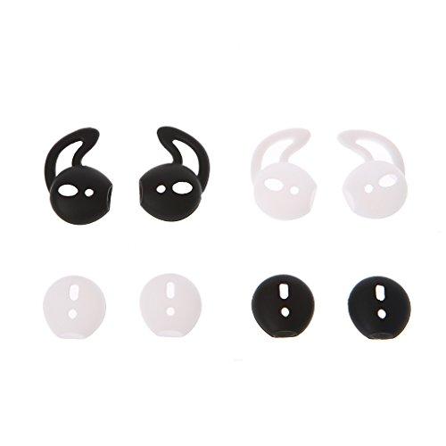 MYBOON 4 Pares de Fundas de Silicona para Auriculares con Gancho