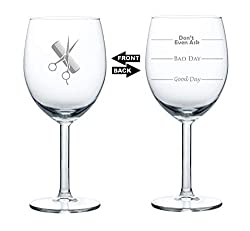 Hair-Sytlist-Gifts-Funny Wine Glass