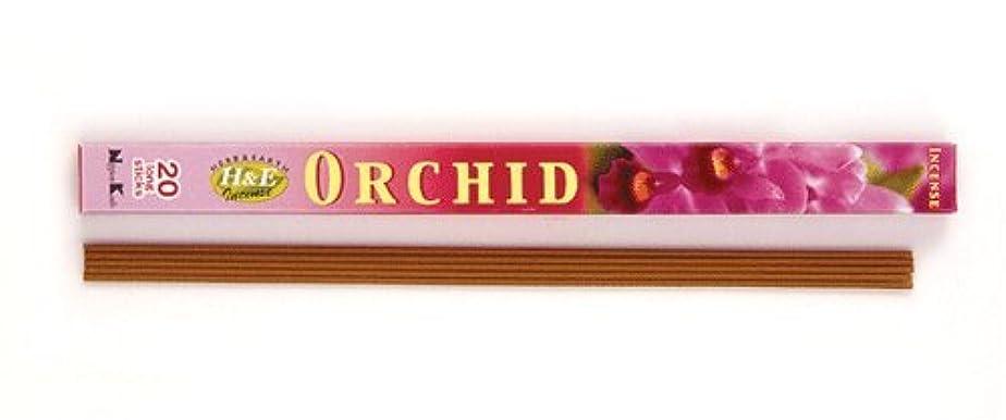 からに変化する書道思慮深いHERB&EARTH Incense ORCHID オーキッド スティック 【お香】
