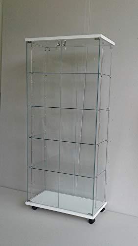Vitrines 4 étagères réglables,vitrines,armoir de Verre,armoires,vitrines pour collectionneurs,vitrine en Verre