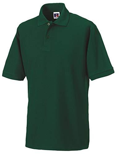 Russell AthleticDamen Polo ShirtPoloshirt Grün Bottle