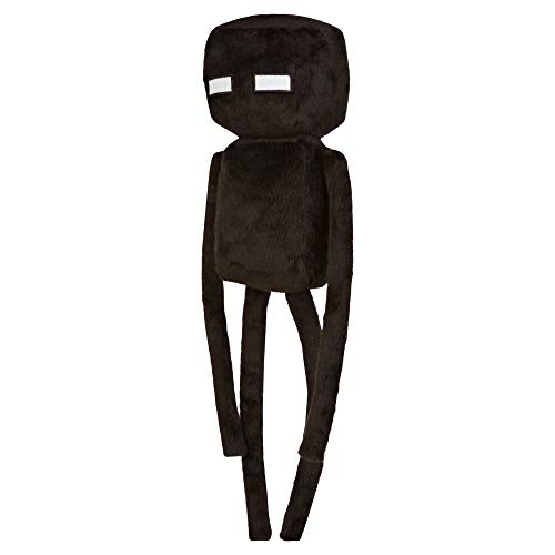 JINX Minecraft Enderman Plush Stuffed Toy, Black, 17' Tall
