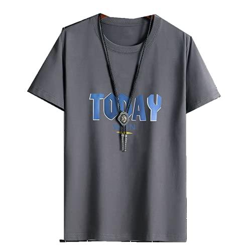 Camiseta de manga corta con parte superior inferior de manga corta para hombre