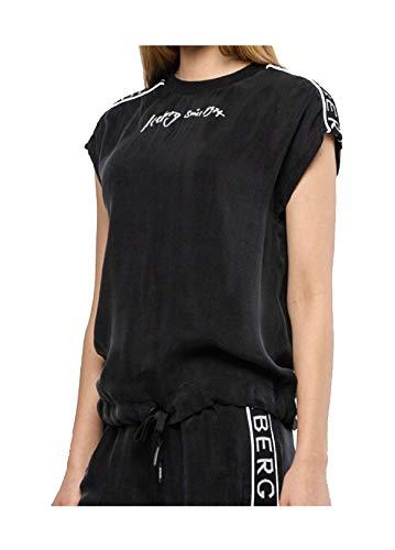 Iceberg T-Shirt Donna F02163059000 Cupro nera PE20 40