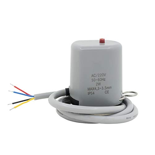 AC220v actuador termico suelo radiante - cabezal suelo