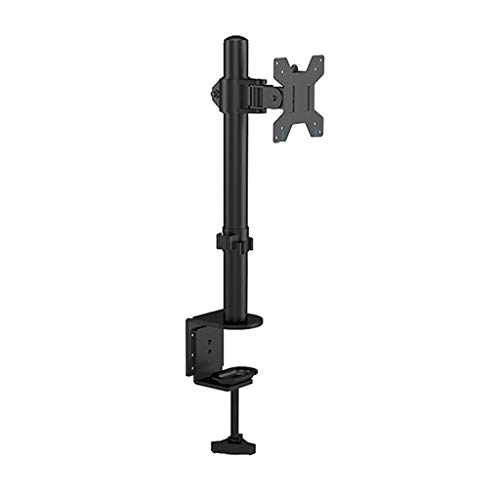 Dubbele Monitor Mount Arms 360 graden draaien Dual Screen Display Bracket Table Clamp Type Gratis Lifting Monitor Holder (Color : Black, Size : A)