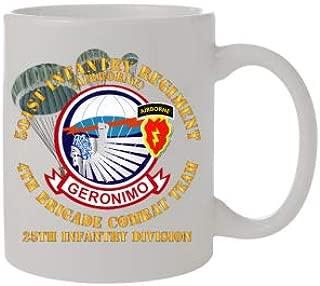 Coffee Mug 11oz - Army - 501st Infantry Regiment - 4th Bde Combat Tm - 25th ID