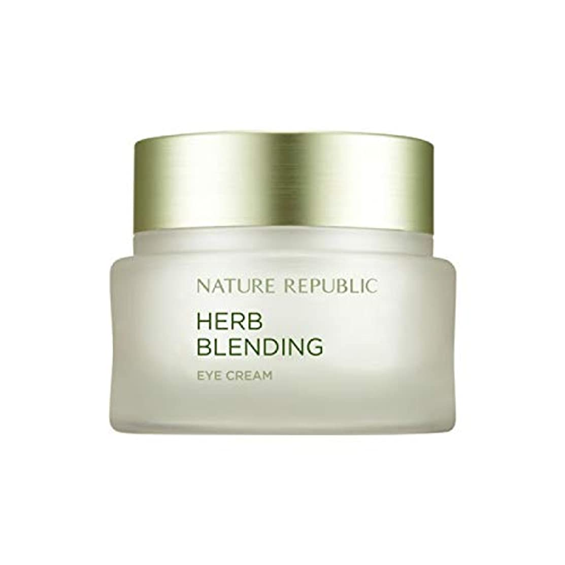 裏切り指定する百年ネイチャーリパブリック(Nature Republic)ハブブレンドアイクリーム 25ml / Herb Blending Eye Cream 25ml :: 韓国コスメ [並行輸入品]
