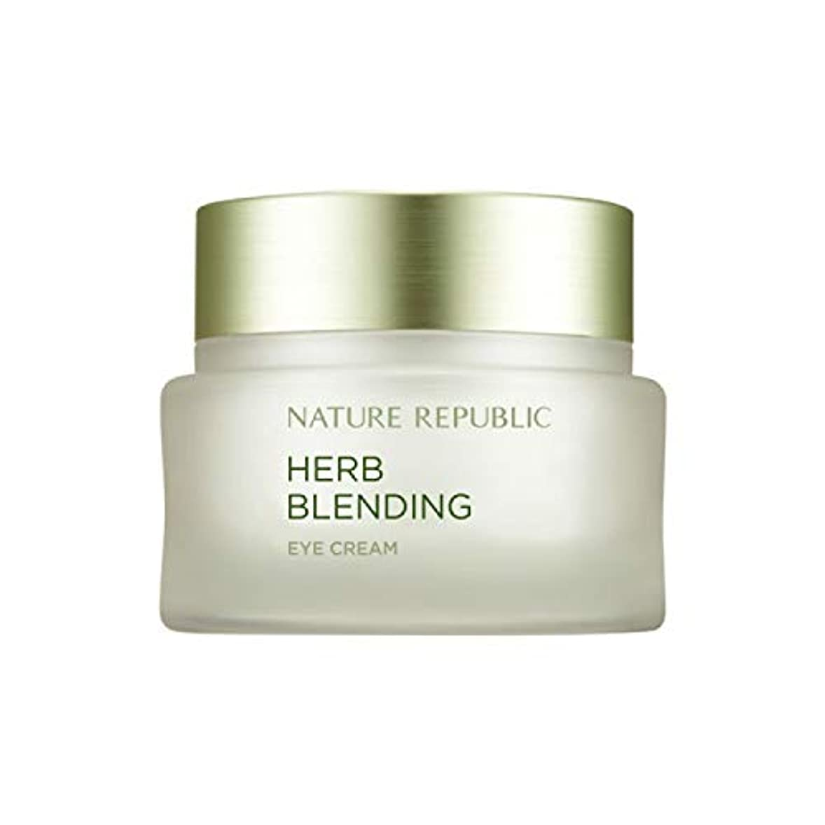 妻独裁荒らすネイチャーリパブリック(Nature Republic)ハブブレンドアイクリーム 25ml / Herb Blending Eye Cream 25ml :: 韓国コスメ [並行輸入品]