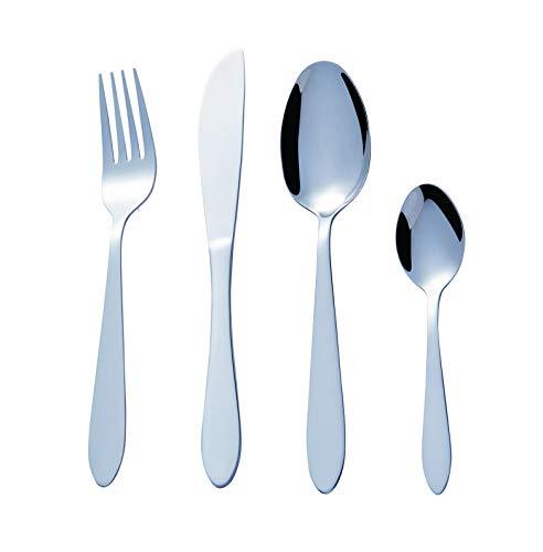 Bon Elegance Set de 16 Couverts de Table - Ménagère...