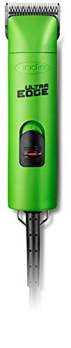Andis UltraEdge Super 2-Speed Detachable Blade Clipper, Professional Animal/Dog Grooming, Spring Green, AGC2 (23290)