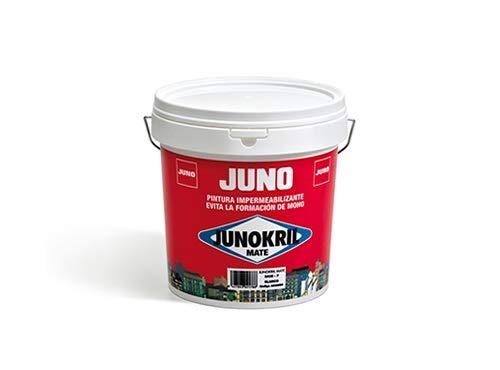 JunoKril blanco mate Pintura Interior / Exterior Antimoho 4l