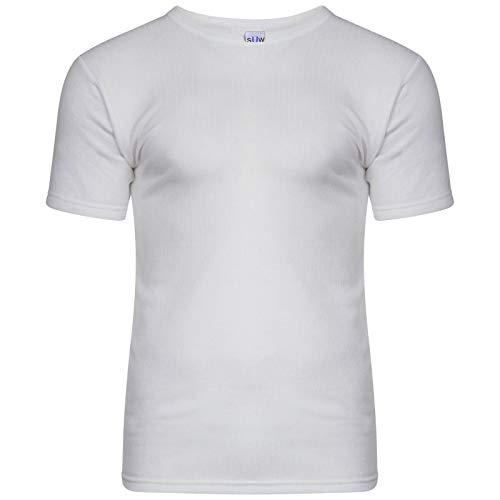 Sockstack®-Herren-Thermo-T-Shirt, warme Unterwäsche, S, M, L, XL, XXL, Thermokleidung Gr. Large, blau