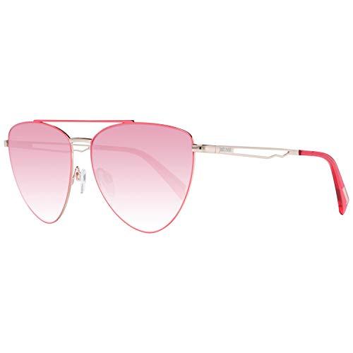 Just Cavalli Unisex-Erwachsene JC839S 72T 57 Sonnenbrille, Pink (Rosa Luc/Bordeaux Grad)