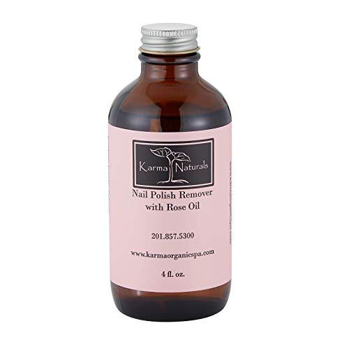 Karma Organic Beauty Natürliches Rosenöl Organischer Nagellackentferner Ungiftig Vegan Grausamkeit...