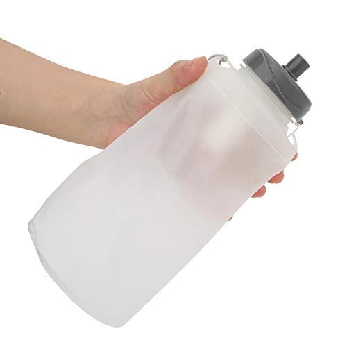 SALUTUYA Mano de Obra Fina Botella de Agua para Correr al Aire Libre Plegable de Gran diámetro de Apertura de 750 ml, para Exteriores, para Correr