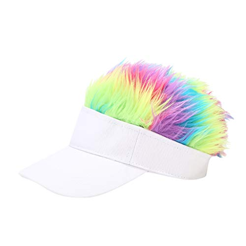 Flair Hair Visor Sun Cap Colorful W…