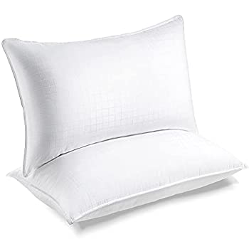 Lifewit Bed Pillows for Sleeping Soft Support Sink-in Pillows Queen Size Set of 2 Supportive Cooling Pillows for Side Stomach Back Sleepers