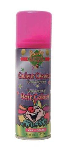 Bombe Laque à cheveux fluo couleur rose - 125 ml
