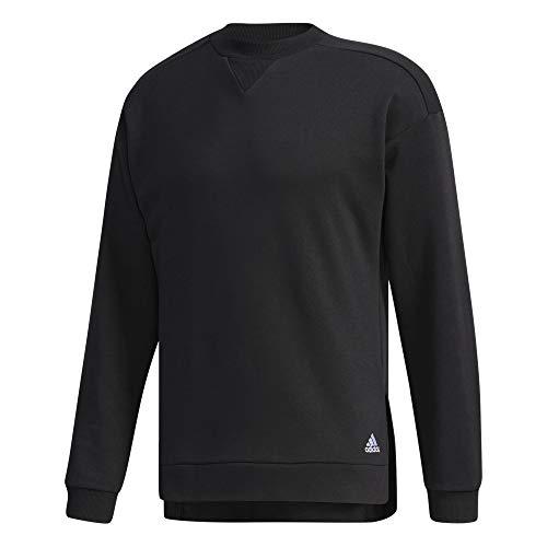 adidas M BL SW Top - Camiseta, Hombre, Negro(Negro)