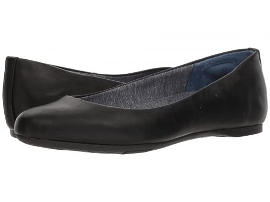 思春期王位歌詞Dr. Scholl's(ドクターショール) レディース 女性用 シューズ 靴 フラット Giorgie - Black Smooth [並行輸入品]