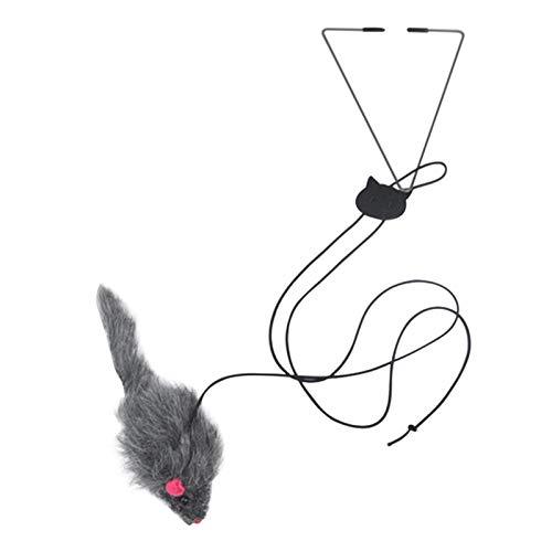 Amusingtao Haustier Katze Libelle Spielzeug Home Workout Stress Entlasten Käfig Tür hängen Multifunktion Flattern Teaser Fenster Einfache Installation Übung Sear Wohnzimmer