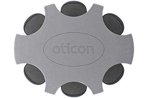 Oticon ProWax MiniFit Replacement Wax Filters for Hearing Aids (Small, Black) by Oticon