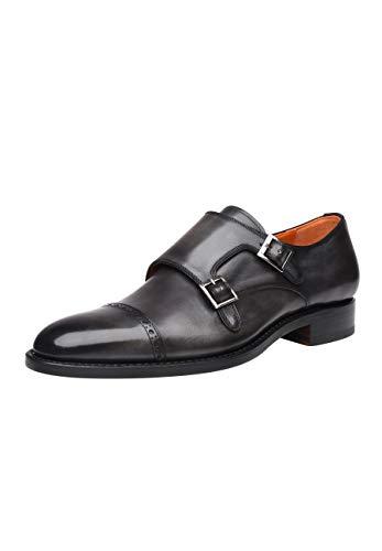 SHOEPASSION - No. 5423 - Schnallenschuhe - Komfortabler Business- oder Freizeitschuh für Herren. Handgefertigt aus feinstem Leder mit einmaliger Patina.