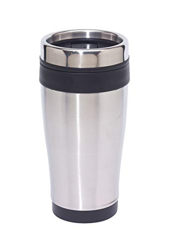PureDay Isolierbecher Lungo - Fassungsvermögen: 0,4L - Schwarz
