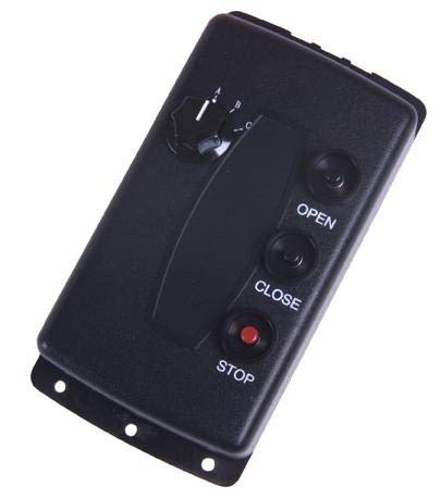 Lowest Prices! Linear 190-107477 / 733T 3-Button 3-Door Open-Close-Stop Stationary Transmitter