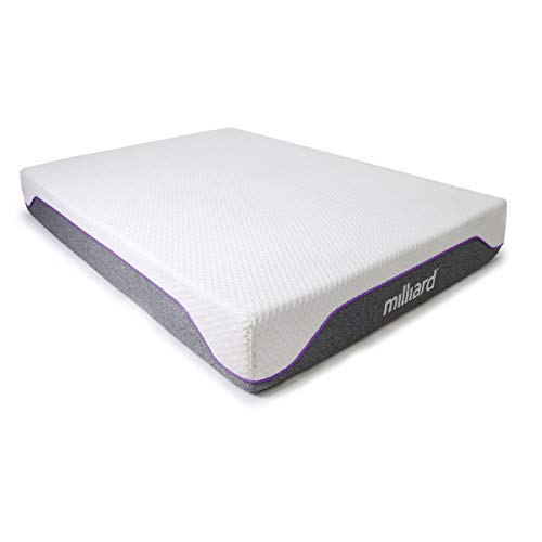 Milliard Memory Foam Mattress - His and Hers Split Firm and...