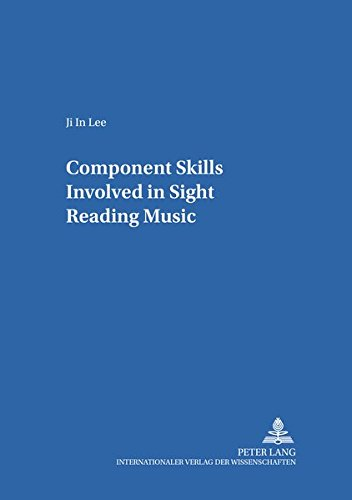 Component Skills Involved In Sight Reading Music.: 15