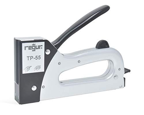 REGUR 53 Handtacker 5000 St/ück Regur Typ 53//8mm Feindraht-Klammern zur Befestigung von Stoffen Polsterarbeiten pr/äziser Profi-Tacker inkl Holz-Etikettierung u.v.m.