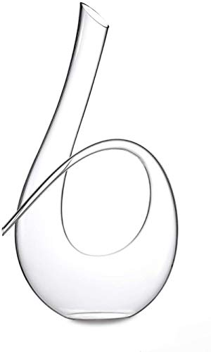 SZJ Horn Torsione Decanter (1500 ml) Non contenente Cristallo al Piombo Bottiglia di Vino Gonfiabile
