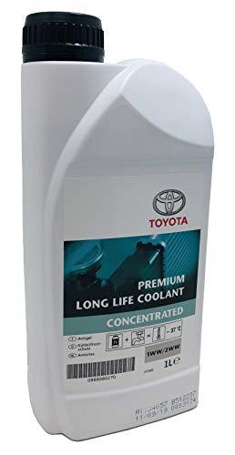 TOYOTA Anticongelante Refrigerante Original Premium Life Coolant Puro Motores 2.0/2.2 D-4D1WW-2WW 1 litro
