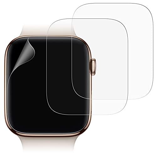 JETech Protector Pantalla Compatible Apple Watch 40 mm, Alta Definición, Ultra Fino, 3 Unidades