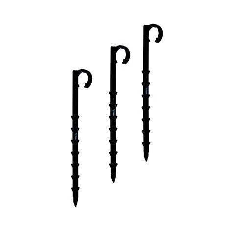 REHAU Steckgabeln für Tropf-/Perlschläuche 10-er Set, schwarz
