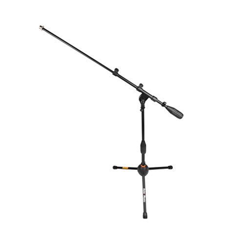 Hola! Music HPS-101KD Professional Low Profile Tripod Microphone Mic Stand for Kick Drums, Black