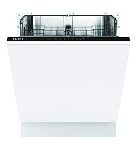 Gorenje GV 62040 Vollintegrierbarer Geschirrspüler / 60cm / 13 Maßgedecke / 5 Programme / Aquastop / vollständiger Überlaufschutz