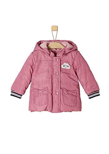 s.Oliver Baby-Mädchen 59.808.51.2455 Jacke, Pink (Dark Pink AOP 43b6), 92