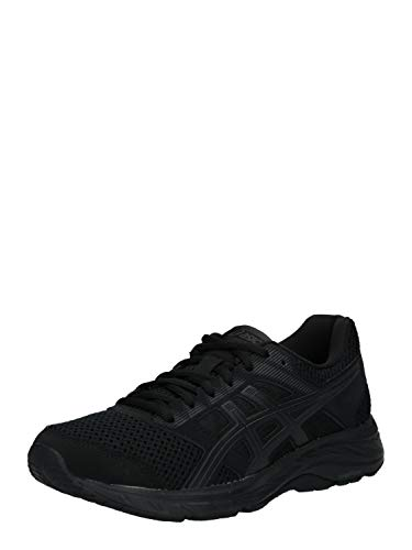Asics Gel-Contend 5, Walking Shoe Unisex-Adult, Black/Graphite Grey, 32/32.5 EU