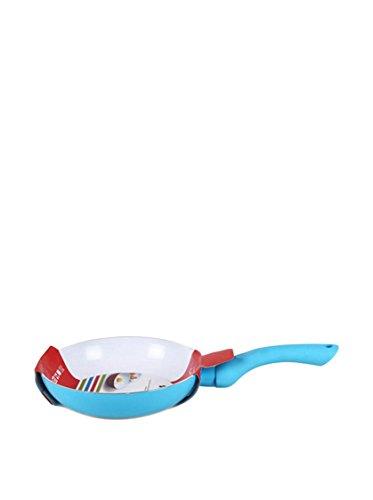 San Ignacio Compatible con Todo Tipo de Cocina, Incluyendo inducción Sartén Soft Touch Colorsinnova 18 cm Azul, Aluminio