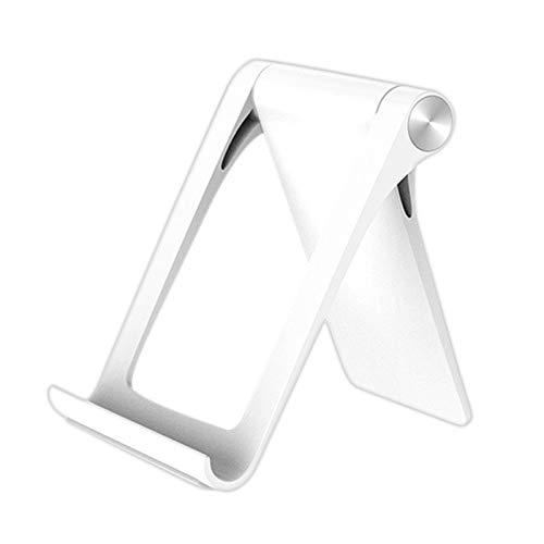 Gesh Tablet Stand Per Universale Pieghevole Regolabile Del Telefono Mobile Stand Per 5 6 7 X Bianco