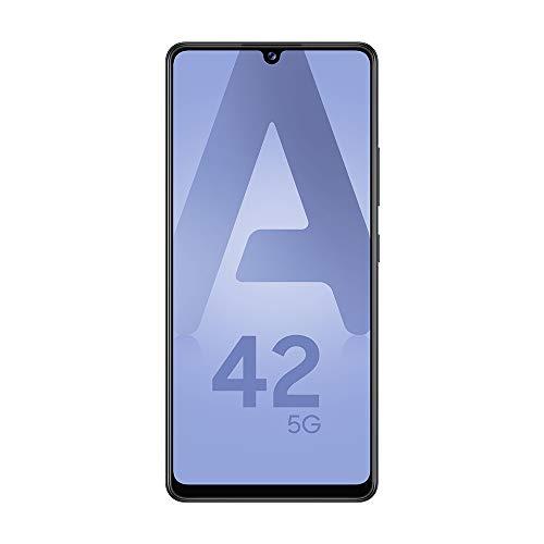 SAMSUNG Galaxy A42 5G Smartphone portable Débloquée (Ecran : 6,6' - 4 Go - Android 10.0) - Noir