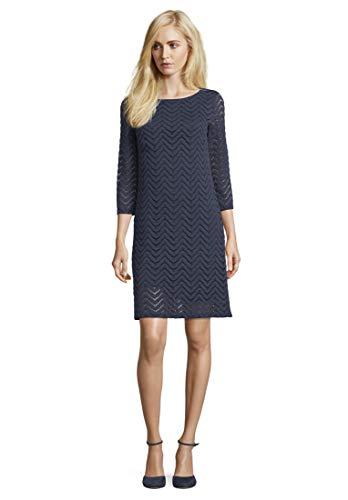 Betty Barclay Damen 6409/9600 Kleid, Blau (Dark Sky 8345), (Herstellergröße: 40)