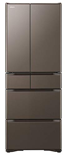 日立 冷蔵庫 475L 6ドア フレンチドア 日本製 幅68.5cm 奥行64.9cm 真空チルド スポット冷蔵 新鮮スリープ...