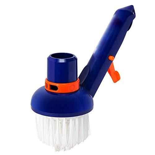 MLOZS Accesorios de limpieza para cepillo de succión pequeño cepillo de succión para mango de piscina (color: -, tamaño: -)