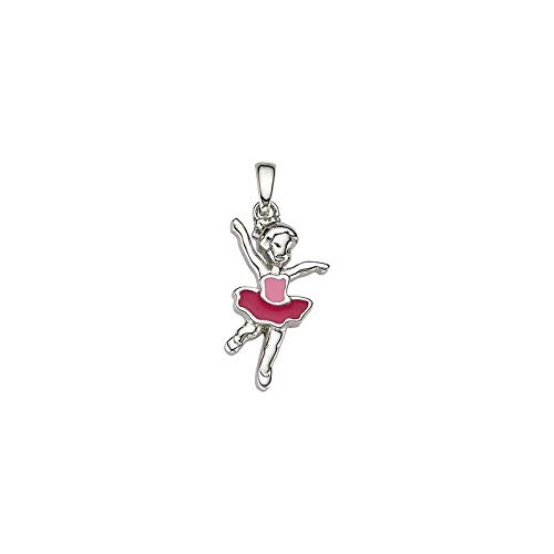 Cem Kinder Anhänger 925 Silber Lack Ballerina BAH905429