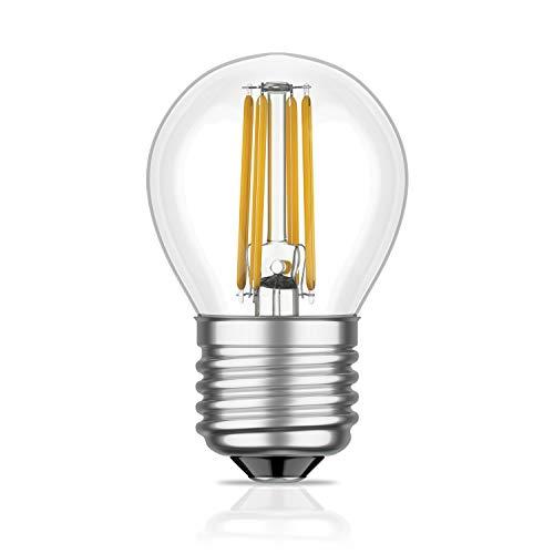 E27 LED-lamp gloeidraad G45 4W = 39W warmwit 450lm A++ voor binnen en buiten