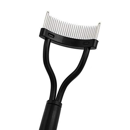 Lash Curlers wimperkruller wimperkruller Beauty Make-up Lash Separator Opvouwbaar Metal Eyelash Borstel Kam Mascara Curl Beauty Make-up cosmetische Tool WKY